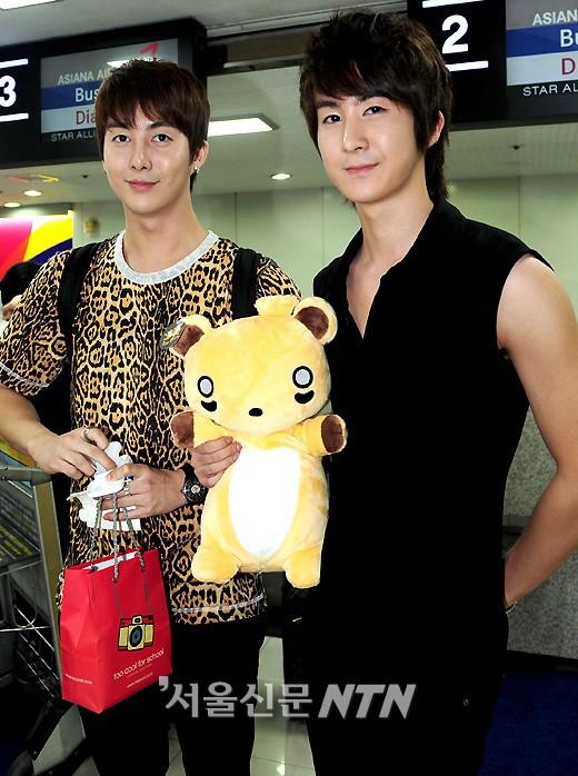 News]Kim Hyung Jun & Kim Kibum's brotherly airport fashion | kimhyungjun